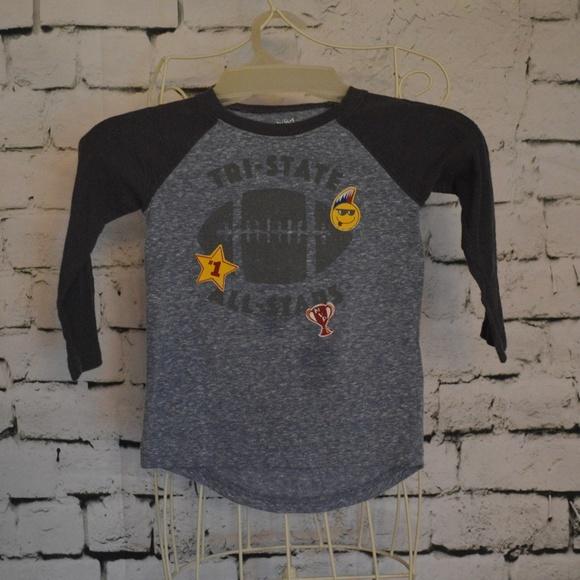 e146458ba jumping beans Shirts & Tops | Toddler Boys Longsleeved Raglan Tee ...